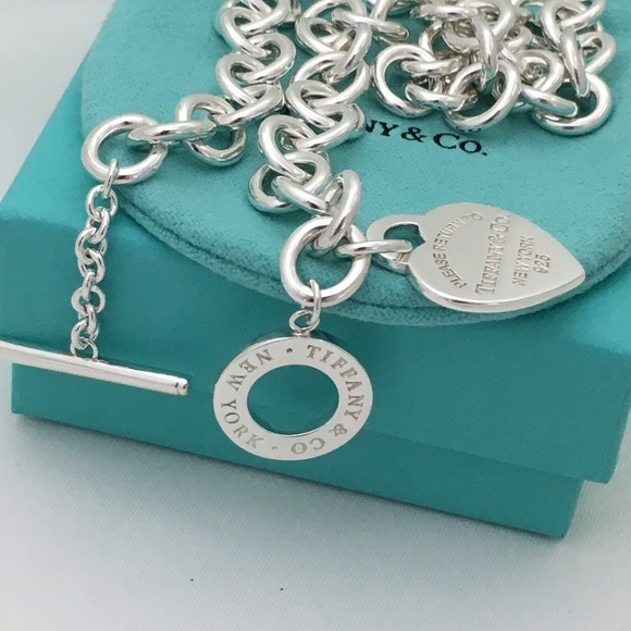 "18"" Large Return to Tiffany Heart Toggle N…"